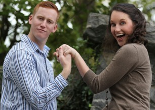 Look we're engaged!