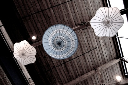 Ceiling umbrellas