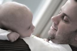 Looking at Dad