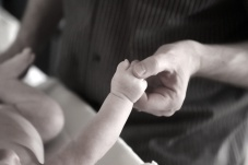 Daddy/Son hands