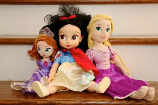 Lindy's favorite dolls