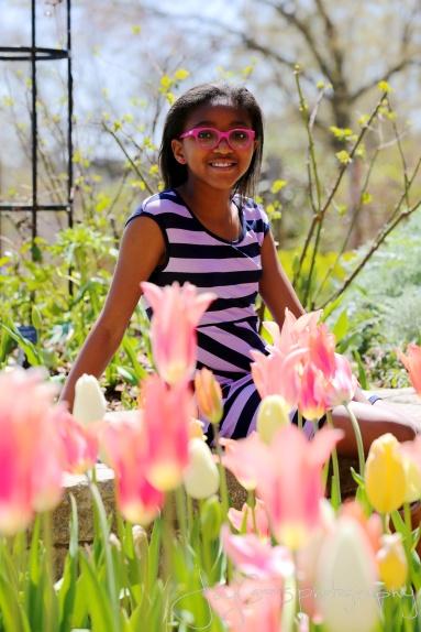 Tulip colored glasses