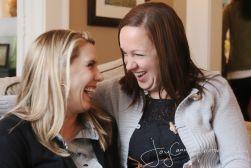 Laughter between friends