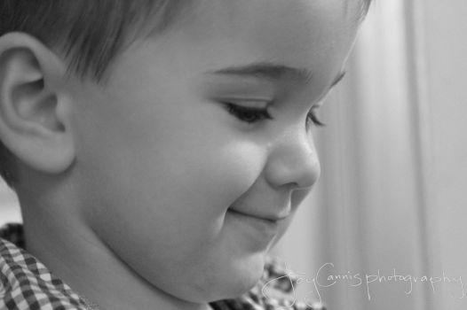 Profile smiling