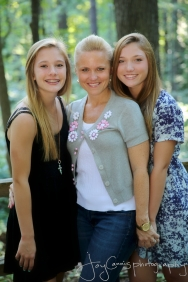 Beautiful Sara with her girls